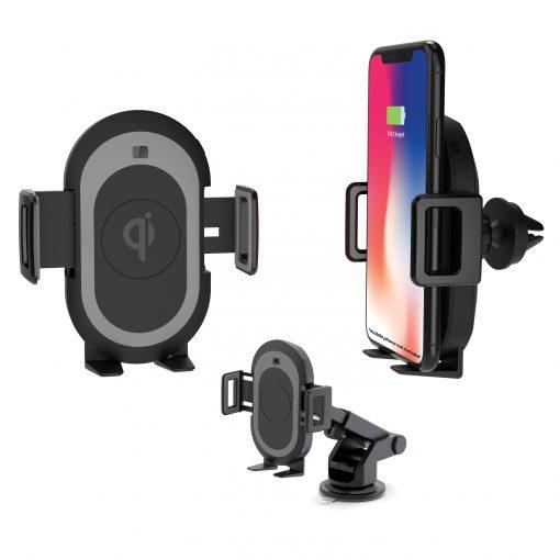 Wireless charging phone bracket