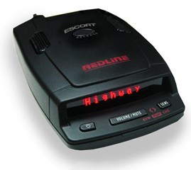 Redline radar detector