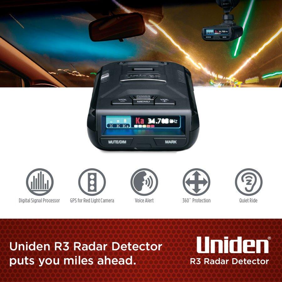Uniden R3 detector NZ